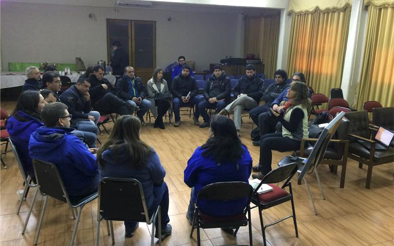 Ovisnova realizó taller con profesionales de INDAP